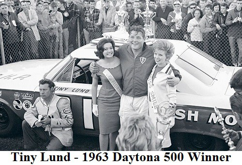 Tiny Lund - 1963 Daytona 500 winner