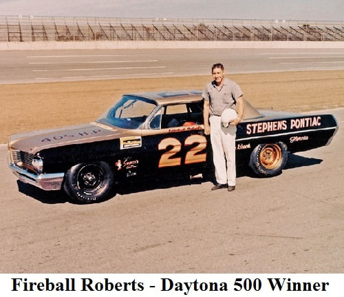 fireball-roberts - 1962 daytona 500 winner
