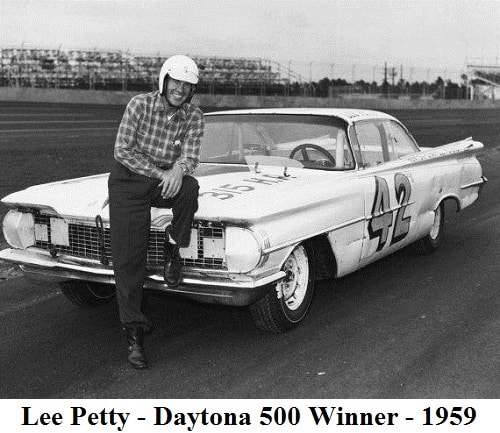 lee-petty - 1959 Daytona 500 Winner