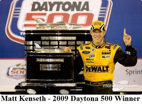 2009 Daytona 500 winner Matt Kenseth