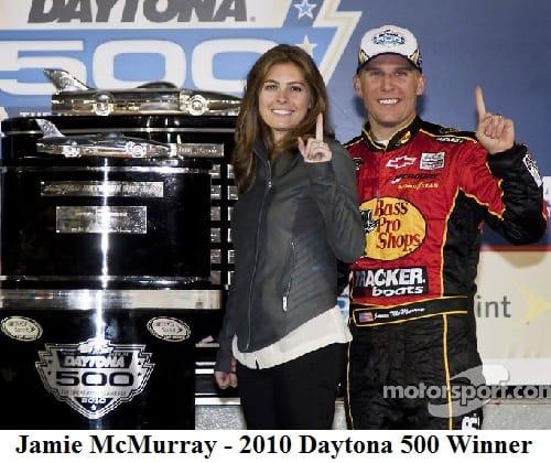 2010 Daytona 500 winner - jamie mcmurray