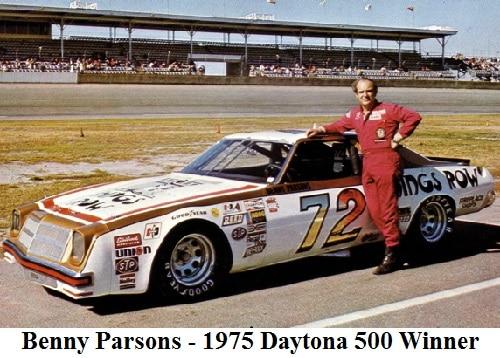 Benny Parsons - 1975 Daytona 500 Winner