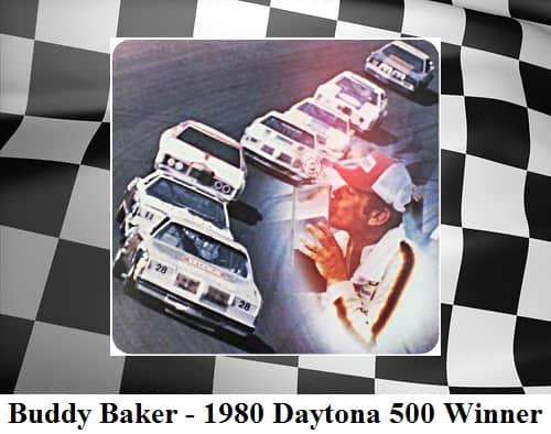 Buddy baker 1980 daytona 500 winner