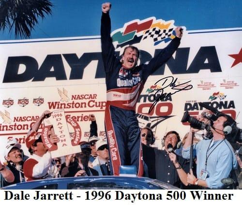 Dale Jarrett 1996 daytona 500 winner