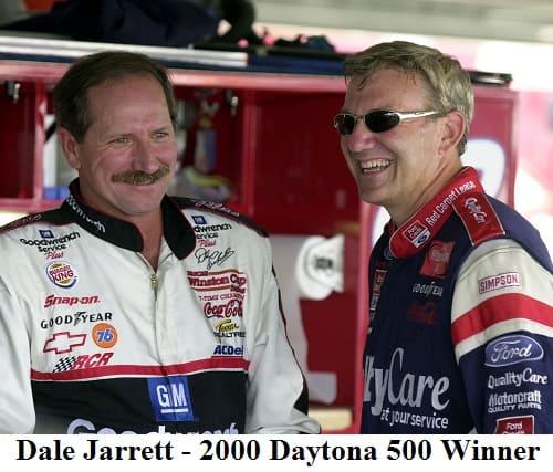 Dale Jarrett 2000 Daytona 500 winner