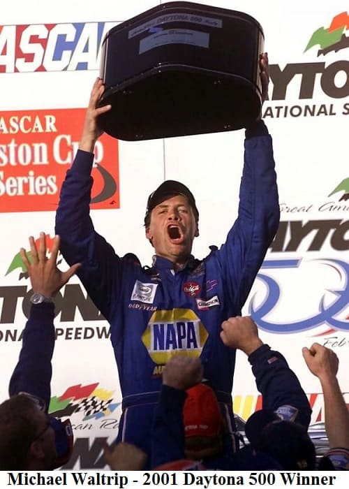 Michael Waltrip 2001 Daytona 500 winner