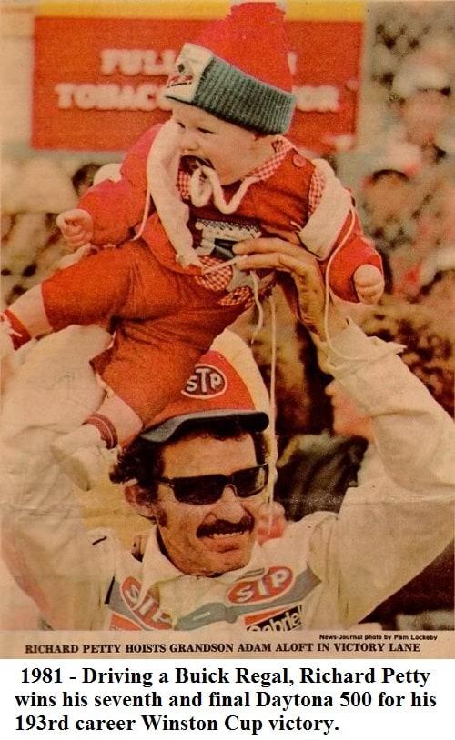 Petty - 1981 Daytona 500 Winner