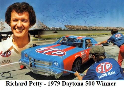 Richard Petty 1979 Daytona 500 Winner