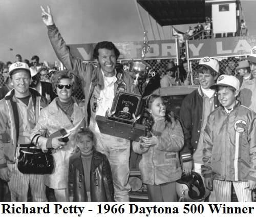 Richard Petty 66 - 1966 Daytona 500 Winner