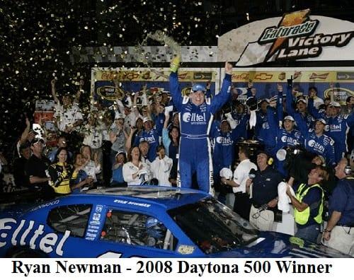 Ryan Newman 2008 Daytona 500 winner
