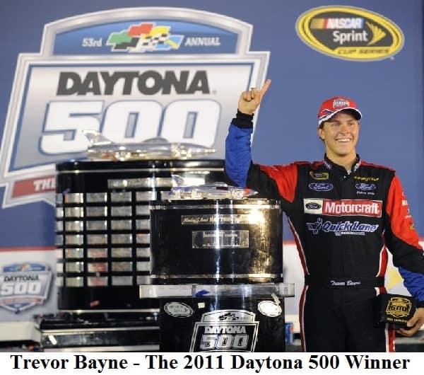 Trevor bayne 2011 daytona 500 winner
