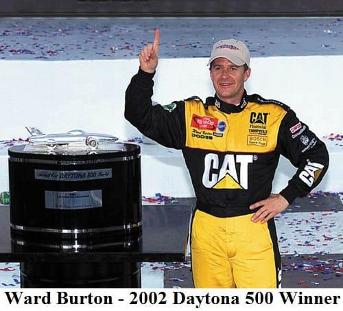 Ward Burton 2002 Daytona 500 winner