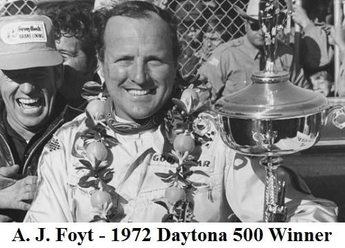 aj foyt 1972 Daytona 500 winner