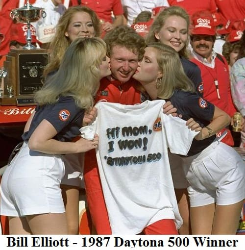 bill elliot 1987 Daytona 500 winner