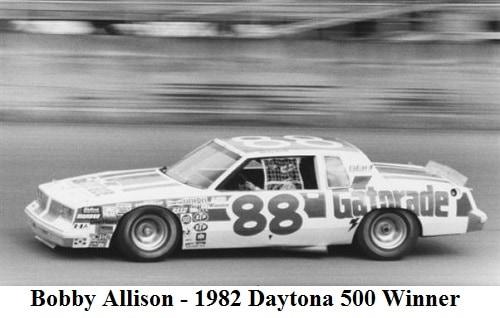 1982 Daytona 500 Winner - Daytona 500 Winners