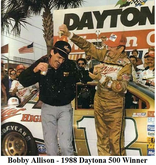 bobby allison 1988 daytona 500 winner