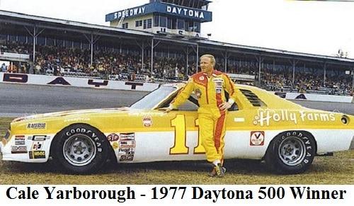cale yarborough 1977 daytona 500 winner