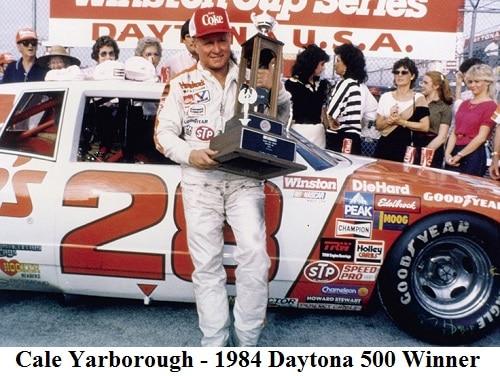 cale yarborough 1984 daytona 500 winner