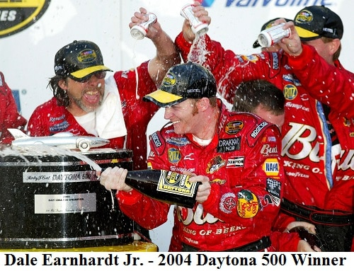 2004 Daytona 500 winner - Dale Jr.