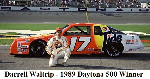 darrell waltrip 1989 daytona 500 winner