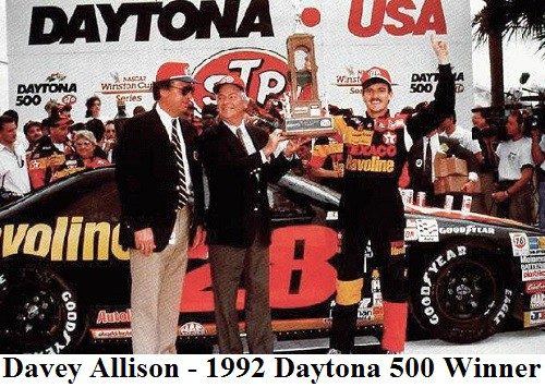 davey Allison 1992 daytona 500 winner