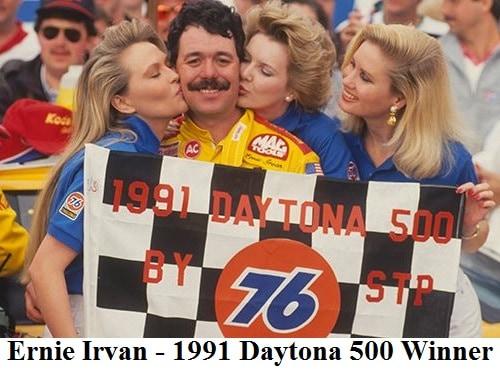 ernie irvan 1991 daytona 500 winner