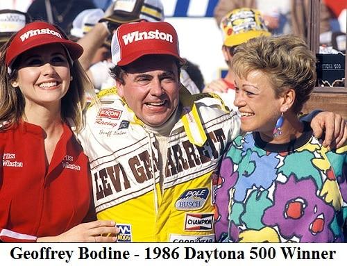 geoff bodine 1986 Daytona 500 winner