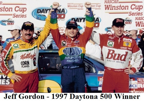 jeff gordon 1997 daytona 500 winner