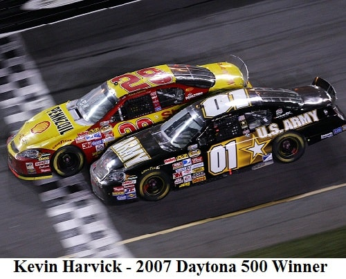 kevin harvick 2007 daytona 500 winner