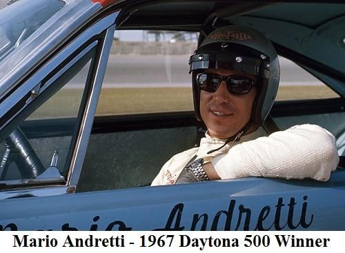 mario andretti - 1967 Daytona 500 Winner