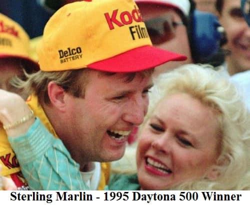sterling marlin 1995 daytona 500 winner