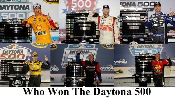 who won the daytona 500