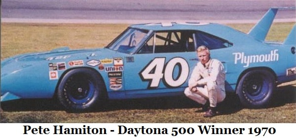 Pete Hamilton Daytona-500-winner-1970