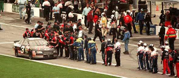 Dale Earnhardt Daytona 500 winner 1998