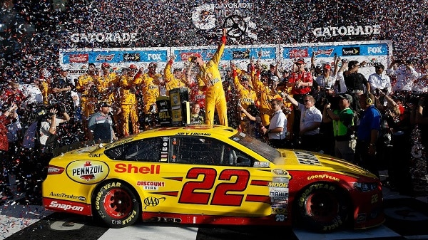 Joey Logano Daytona 500 winner 2015