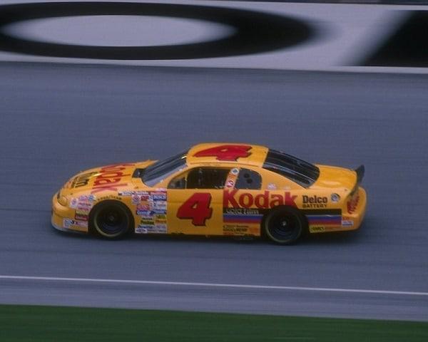 19 Feb 1995: Sterling Marlin wins the NASCAR Daytona 500 at Daytona International Speedway in Daytona Beach, Florida. Mandatory Credit: Andy Lyons /Allsport