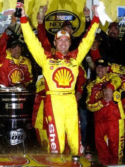 18 February 2007-Kevin Harvick celebrating his Daytona 500 Victory