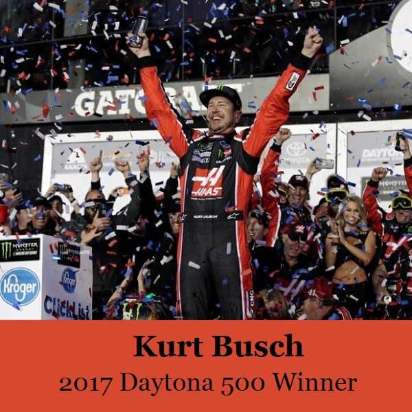 2017 Daytona 500 Winner kurt busch